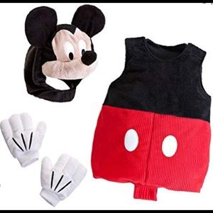 NWOT Disney Store Mickey Mouse Halloween Costume